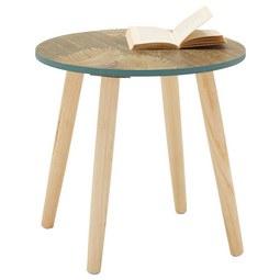 Kisasztal Fortuna -trend- - fenyő színű, fa/fém (40/38/40cm) - MÖMAX modern living