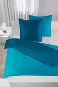 Bettwäsche Belinda ca. 200x200cm - Türkis/Petrol, Textil (200/200cm) - Premium Living