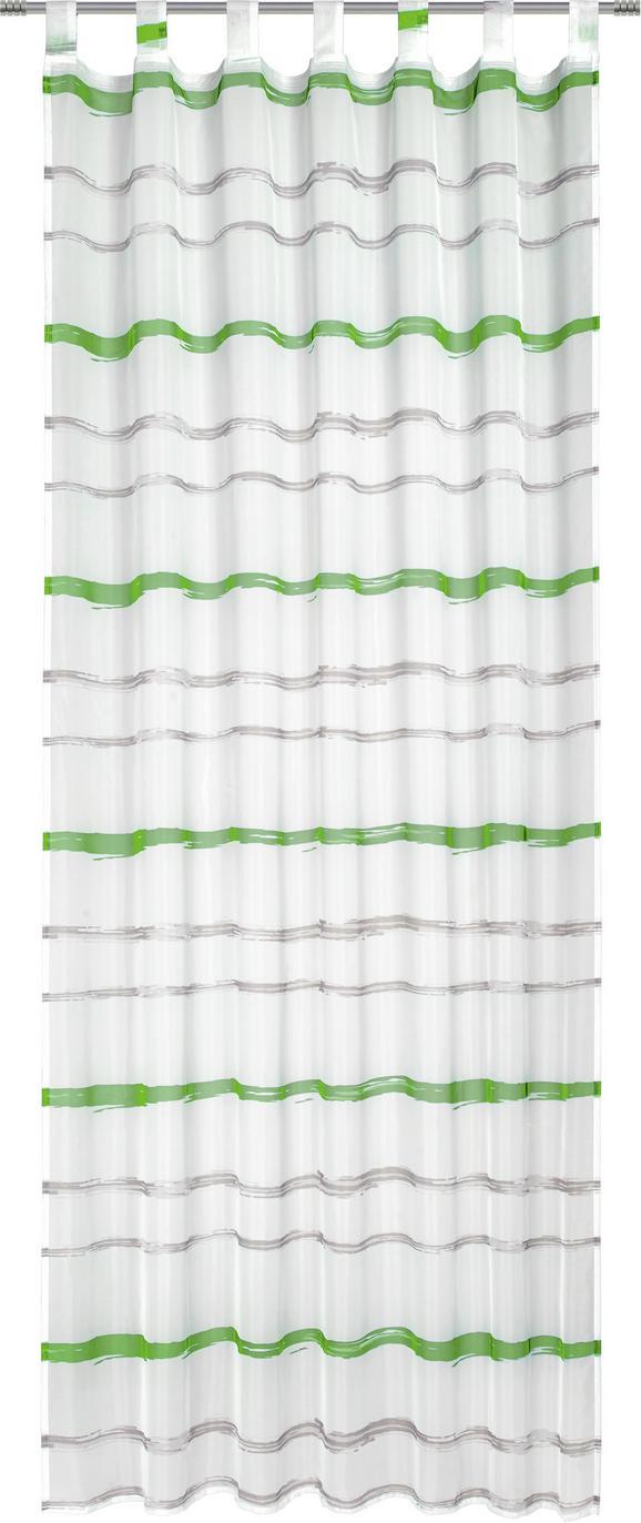 Készfüggöny Matthias - Zöld/Kék, Textil (135/255cm) - Mömax modern living