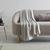 Fleecdecke Anni 130x170 cm - Hellgrau, MODERN, Textil (130/170cm) - Modern Living