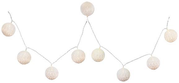 Lichterkette Schnurli max. 0,06 Watt - Weiß, ROMANTIK / LANDHAUS, Kunststoff (6/170cm) - Mömax modern living