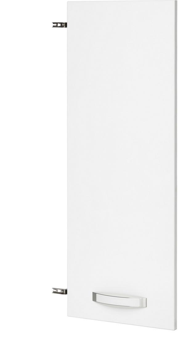 Tür in Weiß Hochglanz - Weiß, MODERN, Holz/Kunststoff (39.4/105.3/1.8cm) - PREMIUM LIVING