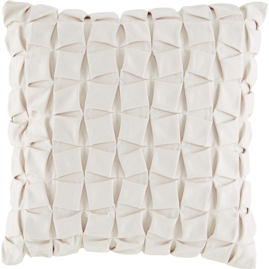 Zierkissen Cube Weiß ca. 45x45cm