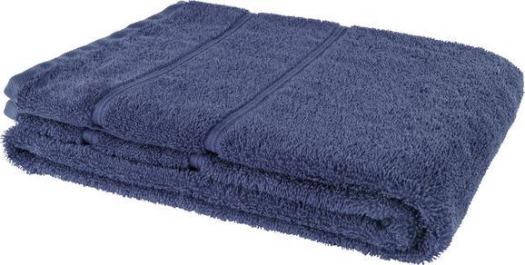 Fürdőlepedő Melanie - kék, textil (70/140cm)