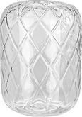 Vaza Chanel - prozorna, Romantika, steklo (17/24cm) - Mömax modern living