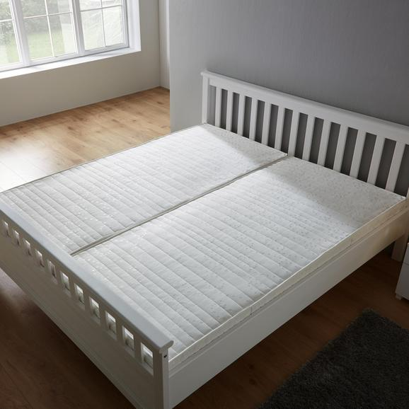 Taschenfederkernmatratze Irisette H2 ca. 90x200cm - Weiß, KONVENTIONELL, Textil (90/200/17cm) - Irisette