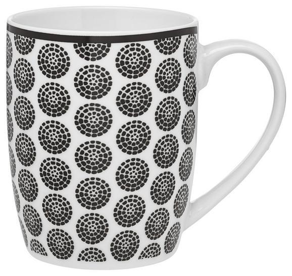 Lonček Za Kavo Shiva - črna/bela, Trendi, keramika (8,5/10,5cm) - Mömax modern living