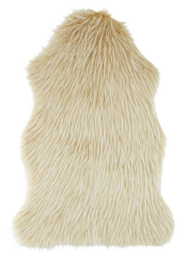 Schaffell Marina Creme/Weiß - Creme/Weiß, Textil (60/90cm) - Modern Living