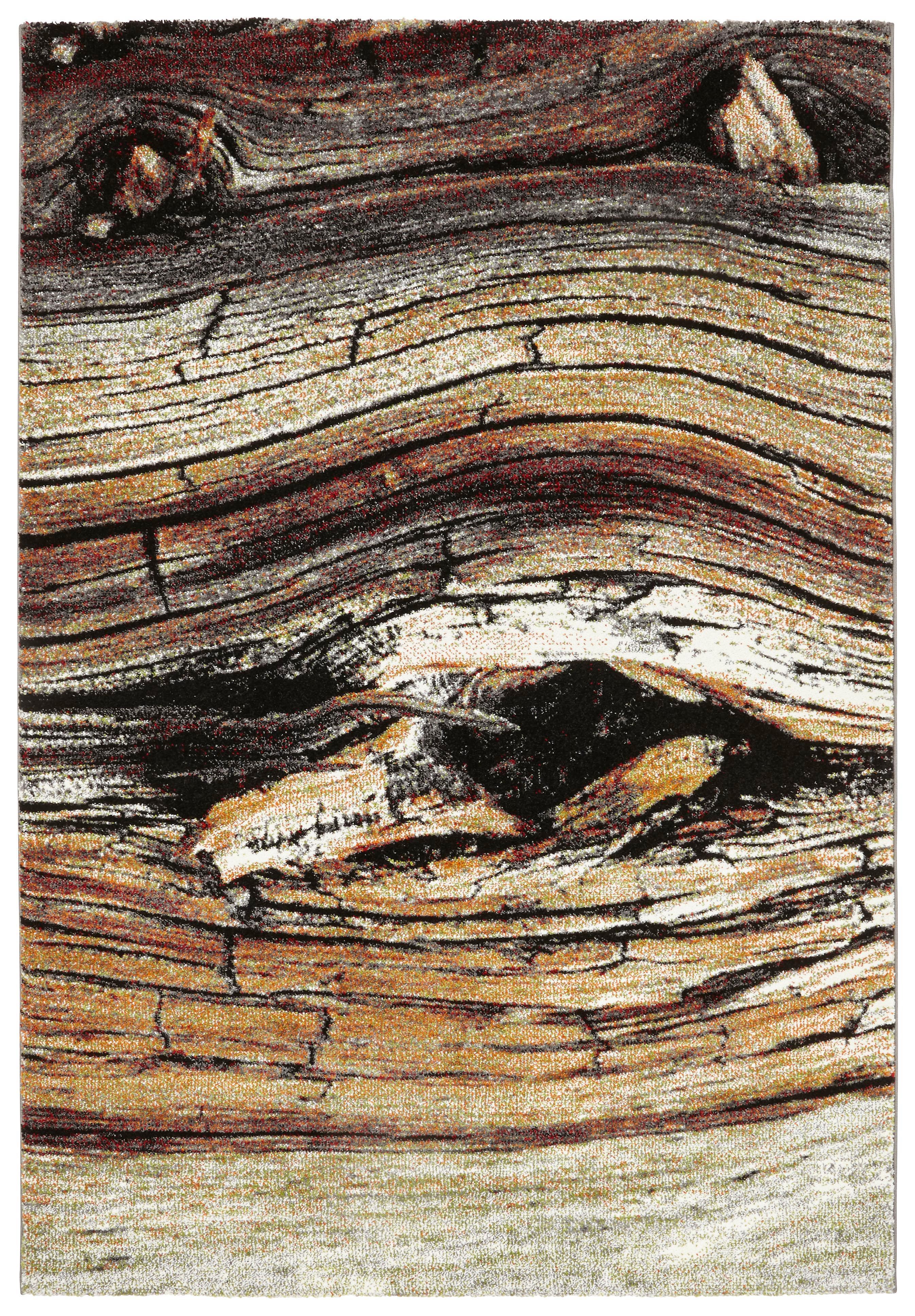 Webteppich Forest - Braun, LIFESTYLE, Textil (120/170cm) - MÖMAX modern living