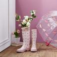 GUMMISTIEFEL Rainy Pink - Pink, Design, Kunststoff (20/40/7cm)