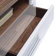 Tv Element Avensis - bijela/boje hrasta, Modern, drvni materijal/plastika (100/41,1/49,6cm) - Modern Living