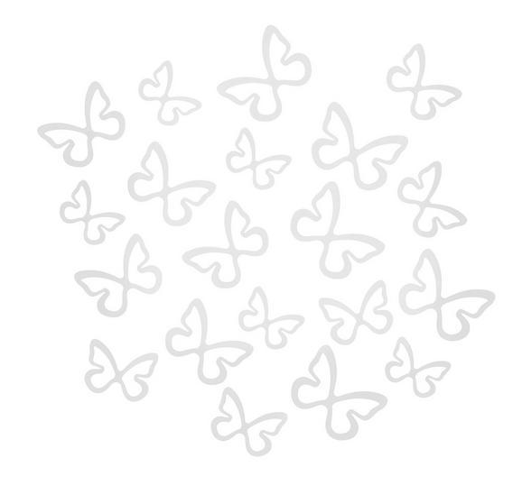 Wanddeko Butterfly in Weiß - Weiß, ROMANTIK / LANDHAUS, Kunststoff (39,37/22,86/7,62cm) - MÖMAX modern living
