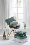 Zierkissen Pam Blau 30x50 cm - Blau, KONVENTIONELL, Textil (30/50cm) - Mömax modern living