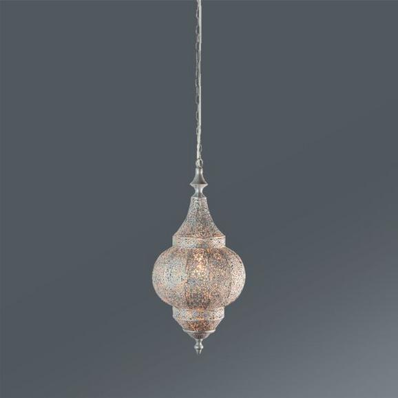 Függőlámpa Orient 2 - Ezüst, Lifestyle, Fém (21/43cm) - Mömax modern living