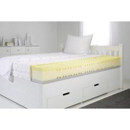 Viscomatratze ca. 90x200cm - Weiß, Textil (90/200cm) - Nadana