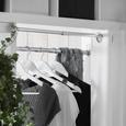 Vállfa Szett Kathrin - Fehér/Fekete, romantikus/Landhaus, Fa/Fém (44,5/23cm) - Mömax modern living