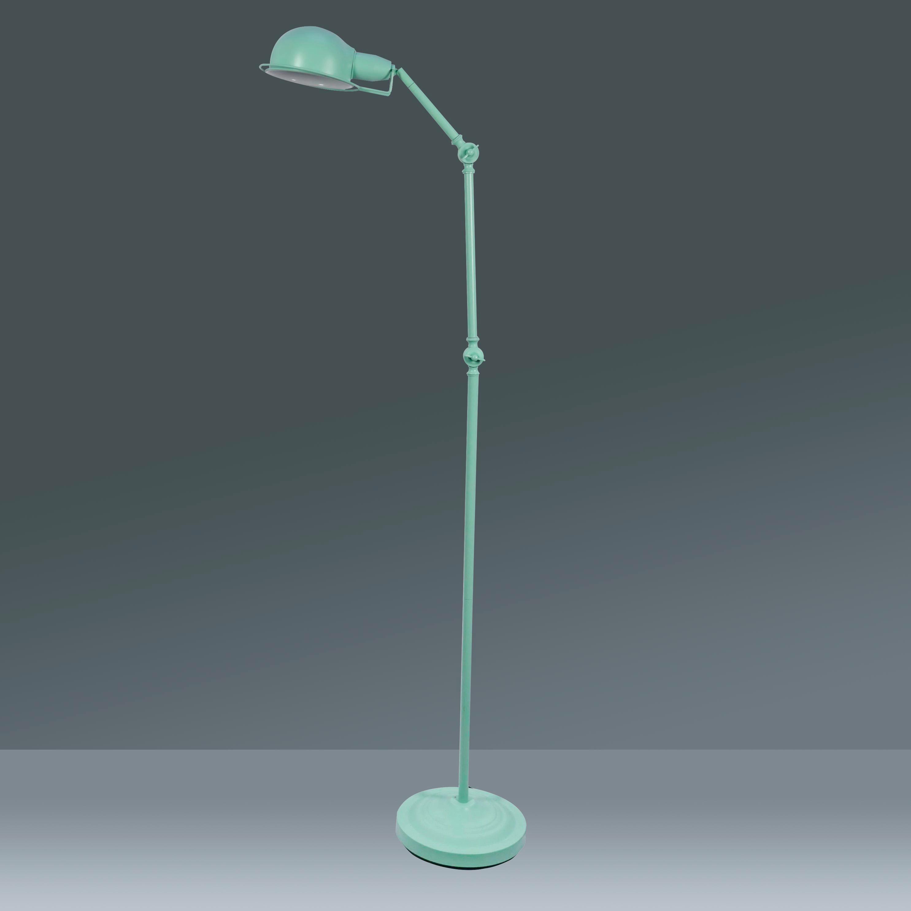Stehleuchte Pax, max. 40 Watt - Türkis, ROMANTIK / LANDHAUS, Metall (40/150cm) - MÖMAX modern living