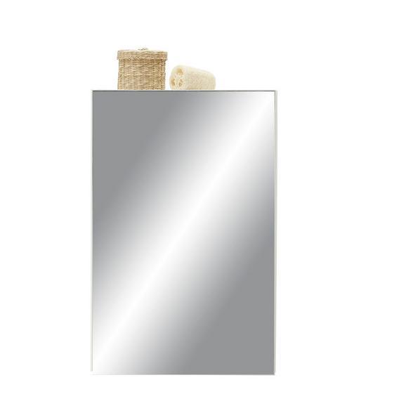 Omara Z Ogledalom Elda - bela, leseni material (40,0/61,5/20,5cm)