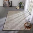 Flachwebeteppich Abra ca. 160x230cm - Dunkelgrau, ROMANTIK / LANDHAUS, Textil (160/230cm) - Mömax modern living