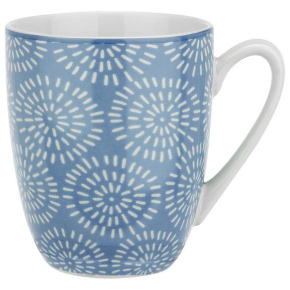 Cană Pentru Cafea Nina - albastru, ceramică (8,5/10cm) - Modern Living