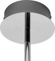 Deckenleuchte Taylor - Chromfarben, MODERN, Glas/Metall (54/32cm) - Mömax modern living