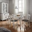 Tischgruppe Amira - Weiß, MODERN, Holz (75/73cm) - Modern Living