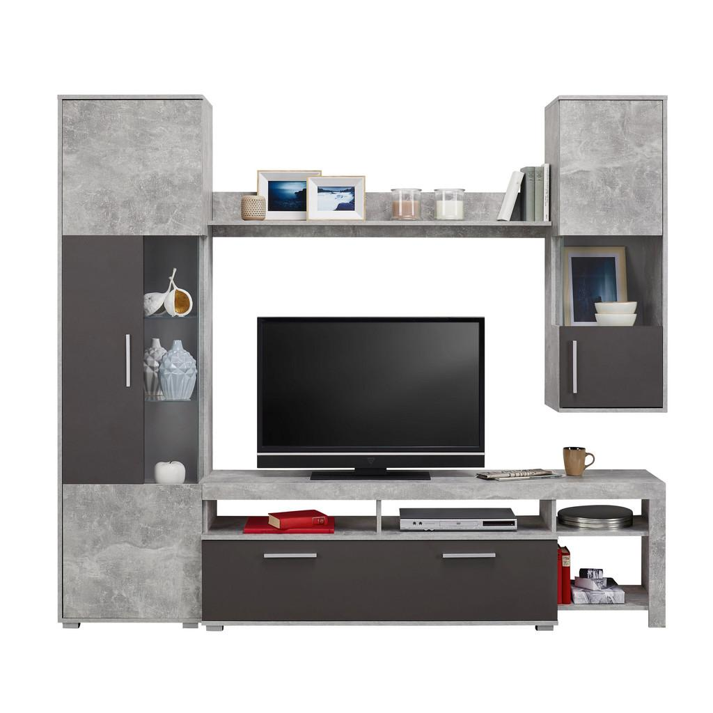 wohnwand betonoptik physiotherapie in chemnitz. Black Bedroom Furniture Sets. Home Design Ideas