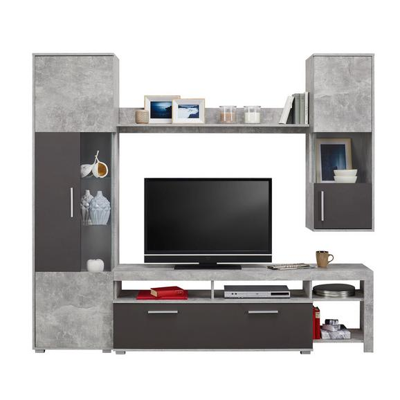 wohnwand betonoptik online kaufen m max. Black Bedroom Furniture Sets. Home Design Ideas