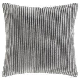Zierkissen Layla 45x45cm - Dunkelgrau, MODERN, Textil (45/45cm) - Mömax modern living