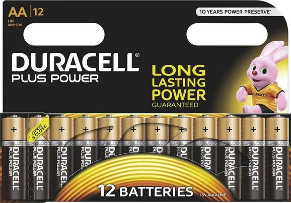 Baterija Duracell Plus Mignon - (17/12/1,5cm)