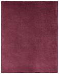 Decke S'oliver ca. 150x200 cm in Bordeaux - Bordeaux, MODERN, Textil (150/200cm) - S. Oliver