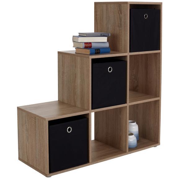 Mobilier Despărțitor Pisa - culoare lemn stejar, Modern (112/114/35cm)