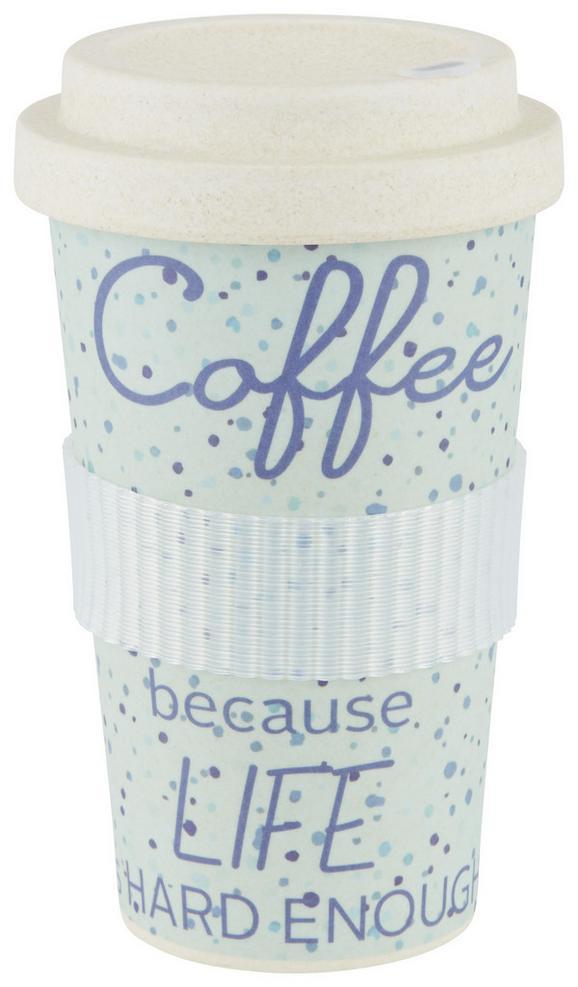 Coffee-to-go-becher Annie verschiedene Farben - Naturfarben, Holzwerkstoff/Kunststoff (9/16cm) - Mömax modern living
