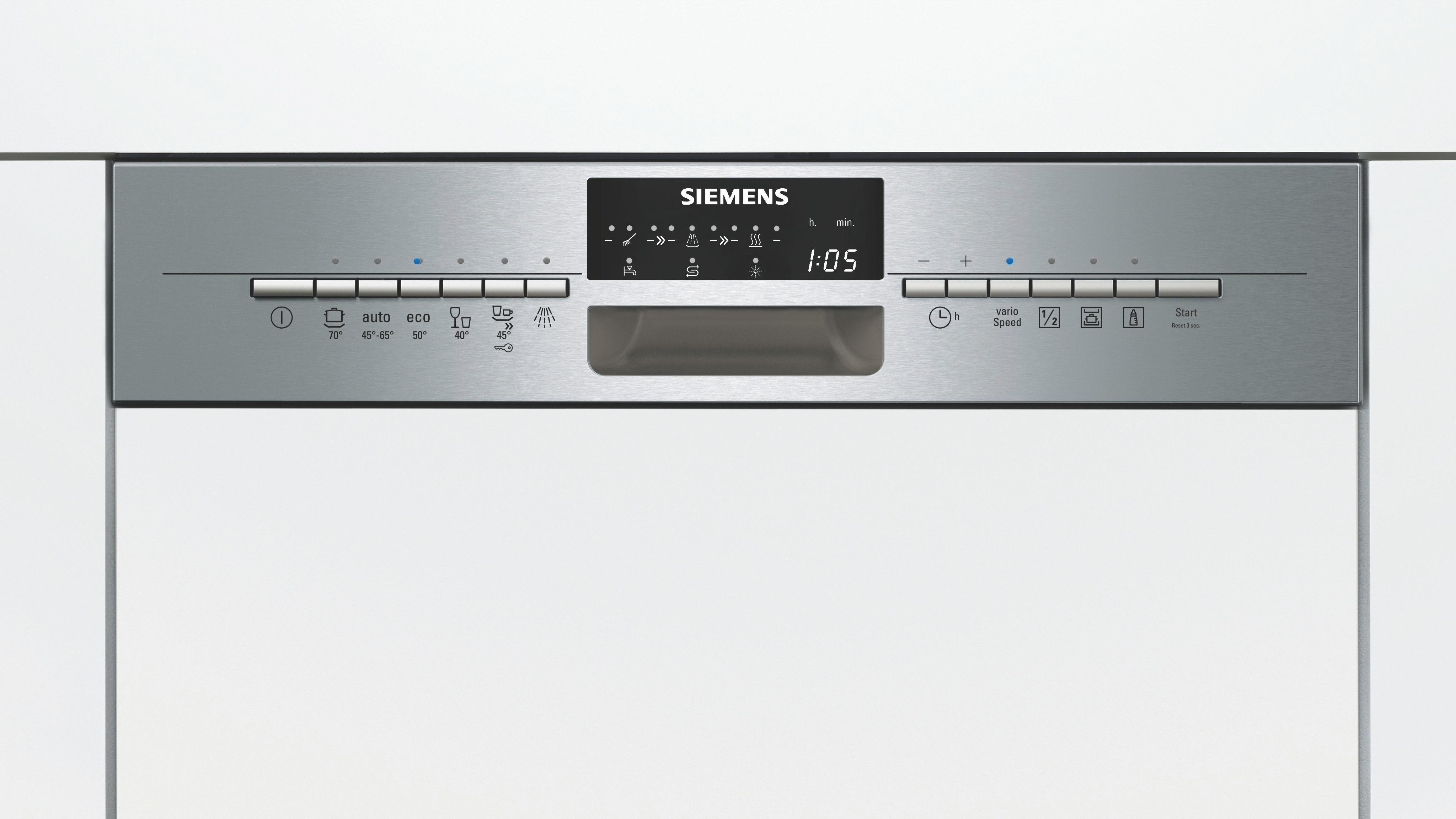 Geschirrspüler Siemens Sn56n556eu, EEZ A++ - MODERN, Metall (59,8/81,5/57,3cm) - SIEMENS