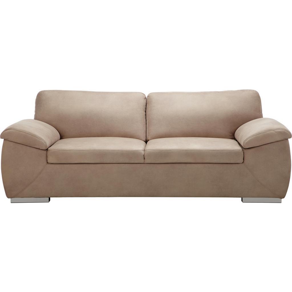 Dreisitzer-Sofa Sandfarben