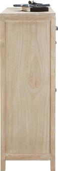 Schuhschrank Savannah - Kieferfarben, ROMANTIK / LANDHAUS, Holz/Metall (80/102/34cm) - PREMIUM LIVING