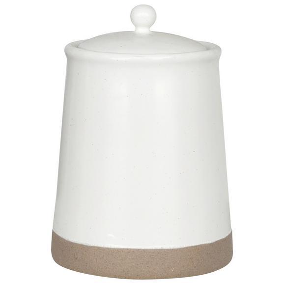 Cutie Alimentară Emilia-M - alb, ceramică/plastic (12/17cm) - Zandiara