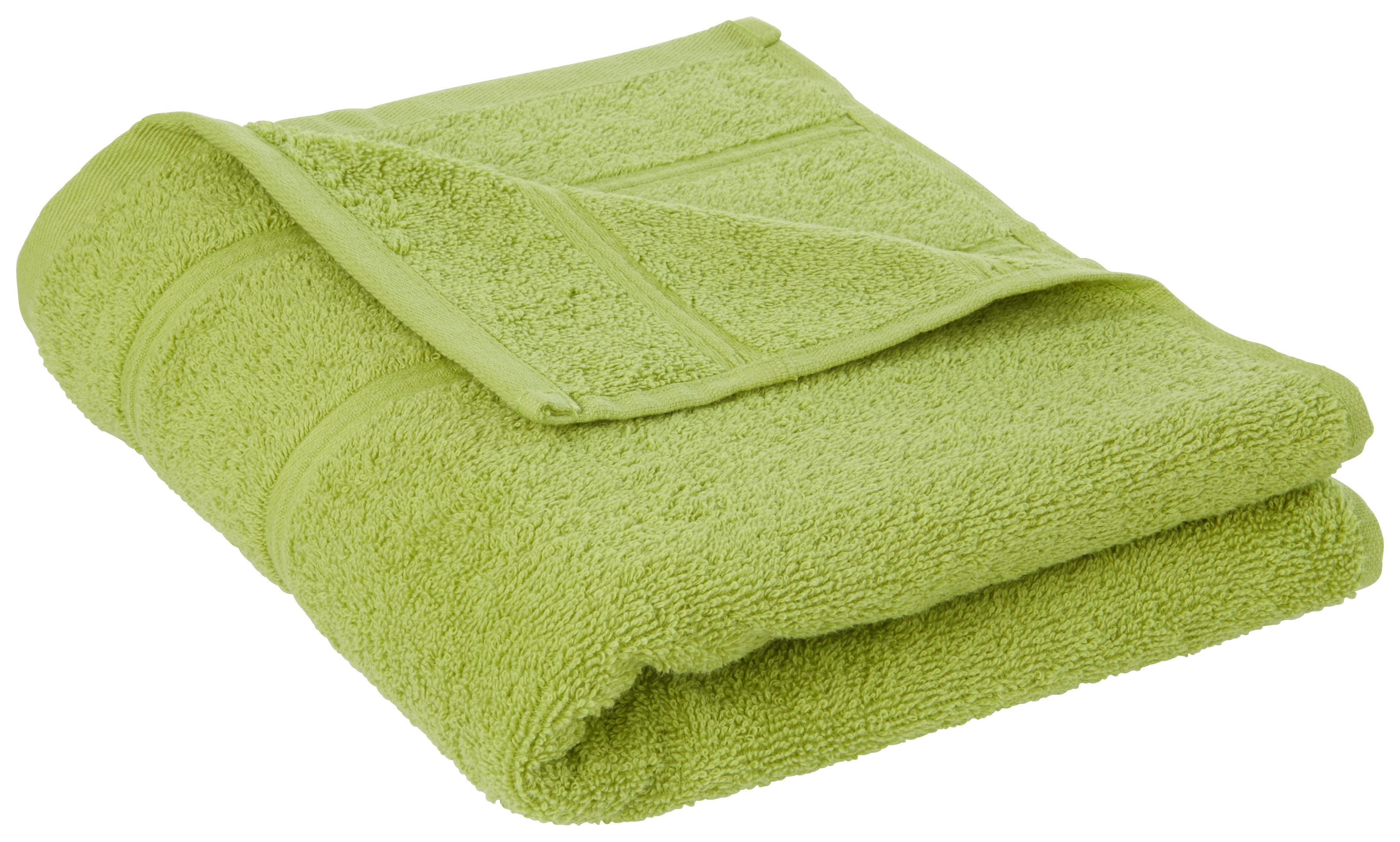 TÖRÖLKÖZŐ MELANIE - zöld, textil (50/100cm) - MÖMAX modern living