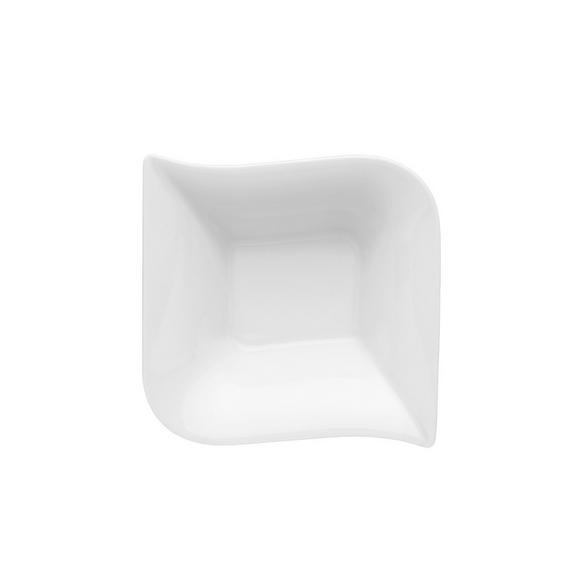 Müzlis Tál Opera - fehér, modern, kerámia (14/4,5/14cm) - MÖMAX modern living