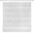 Bändchenrollo Lois Weiß 100x140cm - Weiß, KONVENTIONELL, Textil (100/140cm) - Mömax modern living
