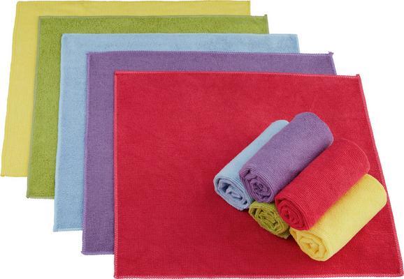 Krpa Iz Mikrovlaken Ricky -kma- - roza/rumena, tekstil (35/35cm) - MÖMAX modern living
