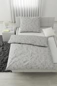 Posteljina Typelove - svijetlo siva, Modern, tekstil (140/200cm) - Mömax modern living