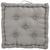 Boxkissen Steven 40x40x8 cm - Grau, Textil (40/40/8cm) - Mömax modern living