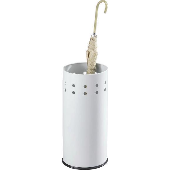 Suport Pentru Umbrele Lonati - alb, Modern, metal (23,5/50cm)