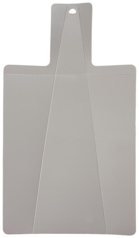 Vágódeszka Ellie - szürke/zöld, konvencionális, műanyag (22/38,5cm) - MÖMAX modern living