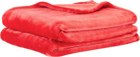 Puha Takaró Diana - Piros, Textil (150/200cm) - Mömax modern living