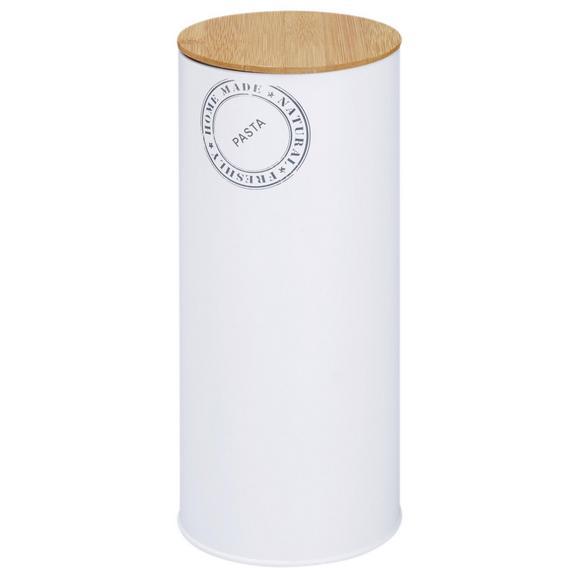 Box mit Deckel Callie Naturfarben/Weiß - Naturfarben/Weiß, MODERN, Holz/Metall (11/27cm)