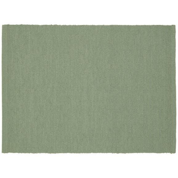 Suport Farfurii Maren - verde, textil (33/45cm) - Based