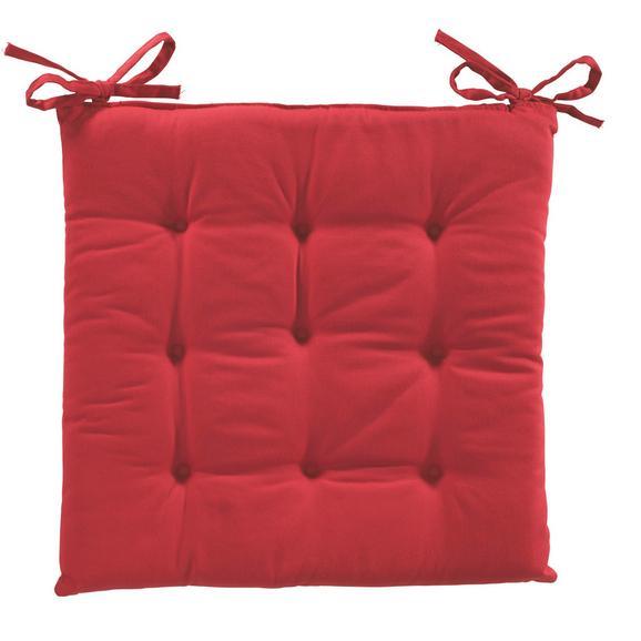 Sedežna Blazina Lola - rdeča, tekstil (40/40/2cm) - BASED
