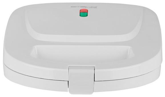 Szendvicssütő Bernd - fehér, műanyag/fém (25/9,8/23,5cm)